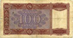100 Franga ALBANIE  1940 P.08 pr.B