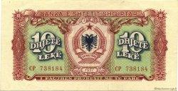 10 Leke ALBANIE  1957 P.28a SUP