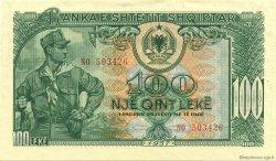 100 Leke ALBANIE  1957 P.30a SPL