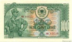 100 Leke ALBANIE  1957 P.30a NEUF