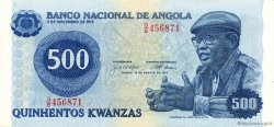 500 Kwanzas ANGOLA  1979 P.116 SPL
