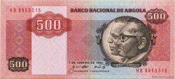 500 Kwanzas ANGOLA  1984 P.120a SPL