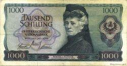 1000 Shilling AUTRICHE  1966 P.147a pr.TTB
