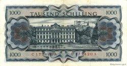 1000 Shilling AUTRICHE  1966 P.147a TTB+
