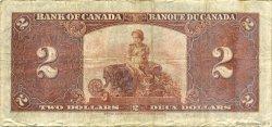 2 Dollars CANADA  1937 P.059c TB
