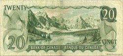 20 Dollars CANADA  1969 P.089b TB à TTB