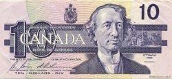 10 Dollars CANADA  1989 P.096b TTB+