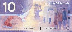 10 Dollars CANADA  2001 P.102 NEUF