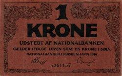 1 Krone DANEMARK  1914 P.011 SUP
