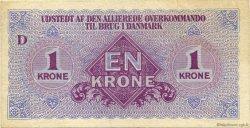 1 Krone DANEMARK  1945 P.M02 TTB