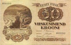 50 Krooni ESTONIE  1929 P.65 TTB+
