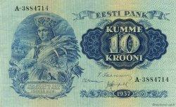 10 Krooni ESTONIE  1937 P.67a SPL
