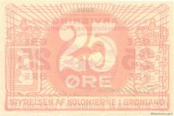 25 Ore GROENLAND  1913 P.11 pr.NEUF