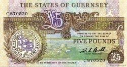 5 Pounds GUERNESEY  1980 P.49 pr.NEUF
