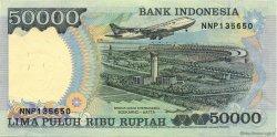 50000 Rupiah INDONÉSIE  1998 P.136d