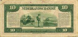 10 Gulden INDES NEERLANDAISES  1943 P.114a TTB