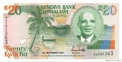 20 Kwacha MALAWI  1990 P.26 NEUF