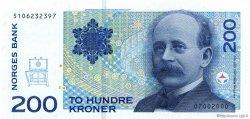 200 Kroner NORVÈGE  2000 P.48c NEUF