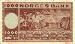 1000 Kroner NORVÈGE  1971 P.35e TTB