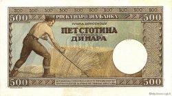 500 Dinara SERBIE  1942 P.31 SPL+