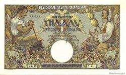 1000 Dinara SERBIE  1942 P.32a SPL