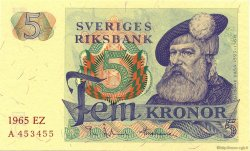 5 Kronor SUÈDE  1965 P.51a NEUF