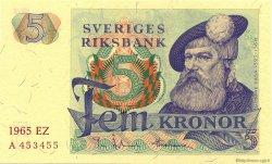 5 Kronor SUÈDE  1965 P.51a NEUF