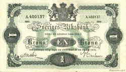 1 Krona SUÈDE  1914 P.32a SPL