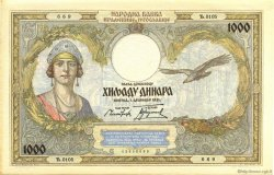 1000 Dinara YOUGOSLAVIE  1931 P.029 SPL