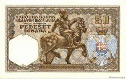 50 Dinara YOUGOSLAVIE  1931 P.028 pr.NEUF