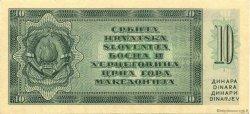 10 Dinara YOUGOSLAVIE  1950 P.067S NEUF