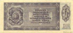 5 Dinara YOUGOSLAVIE  1950 P.067R NEUF