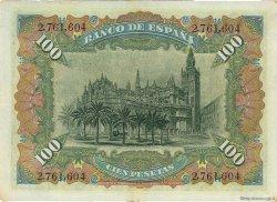 100 Pesetas ESPAGNE  1907 P.064a pr.SUP