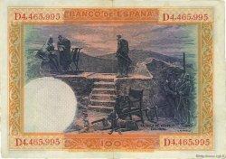 100 Pesetas ESPAGNE  1925 P.069c TTB+