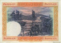 100 Pesetas ESPAGNE  1925 P.069c TTB à SUP