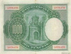 1000 Pesetas ESPAGNE  1925 P.070a pr.SUP