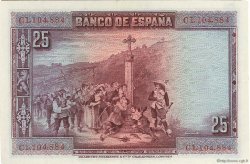 25 Pesetas ESPAGNE  1928 P.074b SUP
