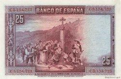 25 Pesetas ESPAGNE  1928 P.074b pr.NEUF
