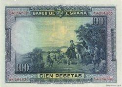 100 Pesetas ESPAGNE  1928 P.076a pr.NEUF