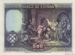 500 Pesetas ESPAGNE  1928 P.077a SPL
