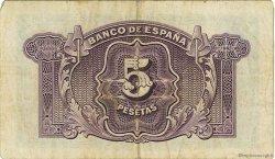 5 Pesetas ESPAGNE  1935 P.085a TTB