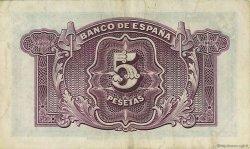 5 Pesetas ESPAGNE  1935 P.085a TTB+