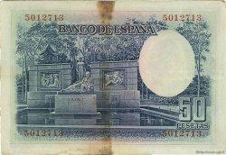 50 Pesetas ESPAGNE  1935 P.088 TB+