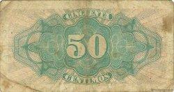 50 Centimos ESPAGNE  1937 P.093 B à TB