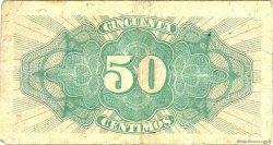 50 Centimos ESPAGNE  1937 P.093 TB