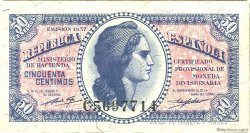 50 Centimos ESPAGNE  1937 P.093 NEUF