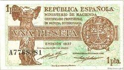1 Peseta ESPAGNE  1937 P.094 pr.NEUF