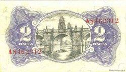 2 Pesetas ESPAGNE  1937 P.095 pr.NEUF