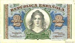 2 Pesetas ESPAGNE  1937 P.095 SUP