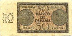 50 Pesetas ESPAGNE  1936 P.100 TB à TTB